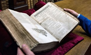 The First Folio found in Saint-Omer library