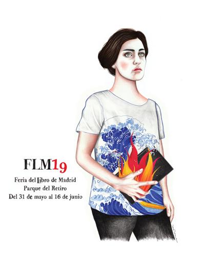 Cartel_Feria_Libro_Madrid_FLM19_Sara_Morantes